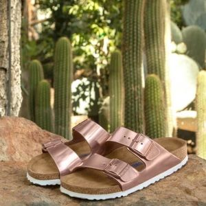 Birkenstock Arizona Soft Footbead Slip On Sandals